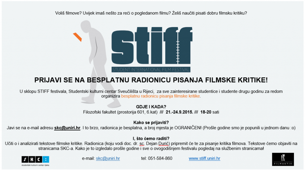 STIFF radionica